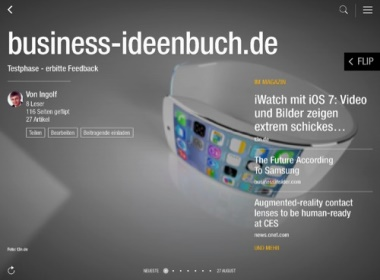 Ideenbuch Business